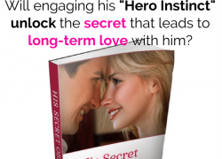 "James Bauer [ His Secret Obsession Review ]…and the ""Hero Instinct"""